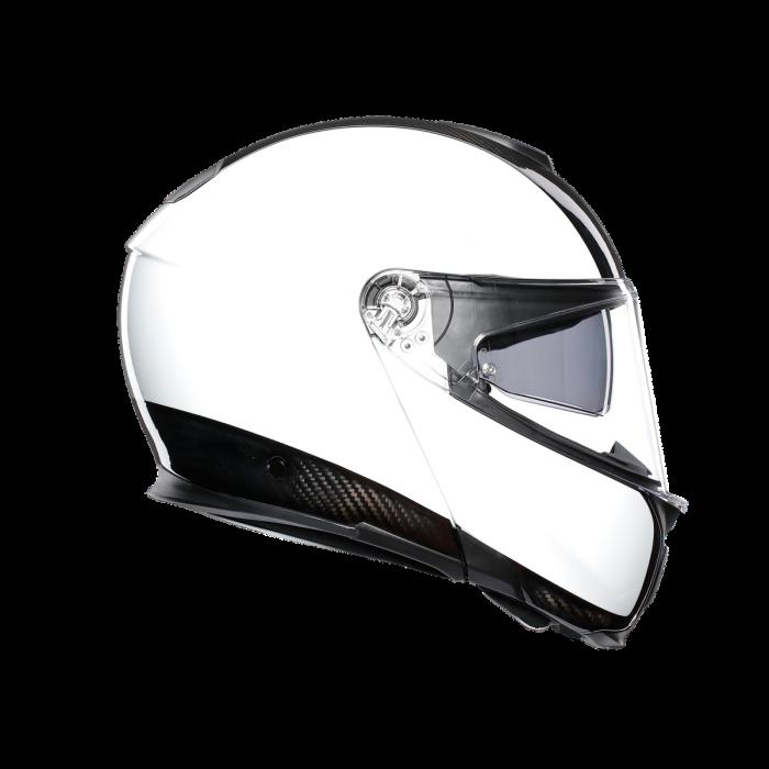 Casca AGV SPORTMODULAR MONO E2205 - CARBON/WHITE 2