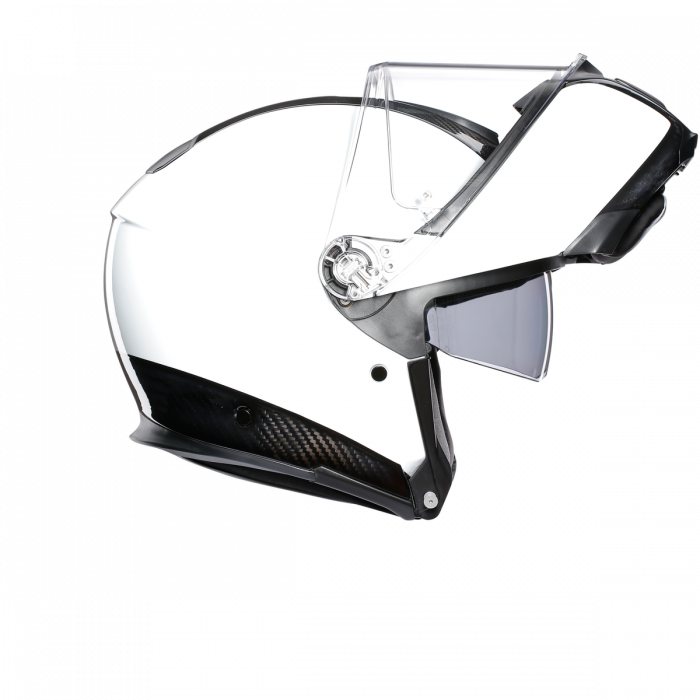 Casca AGV SPORTMODULAR MONO E2205 - CARBON/WHITE 3