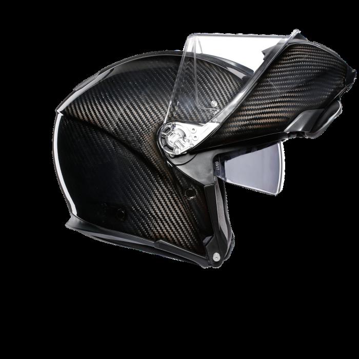 Casca AGV SPORTMODULAR MONO E2205 - GLOSSY CARBON 3