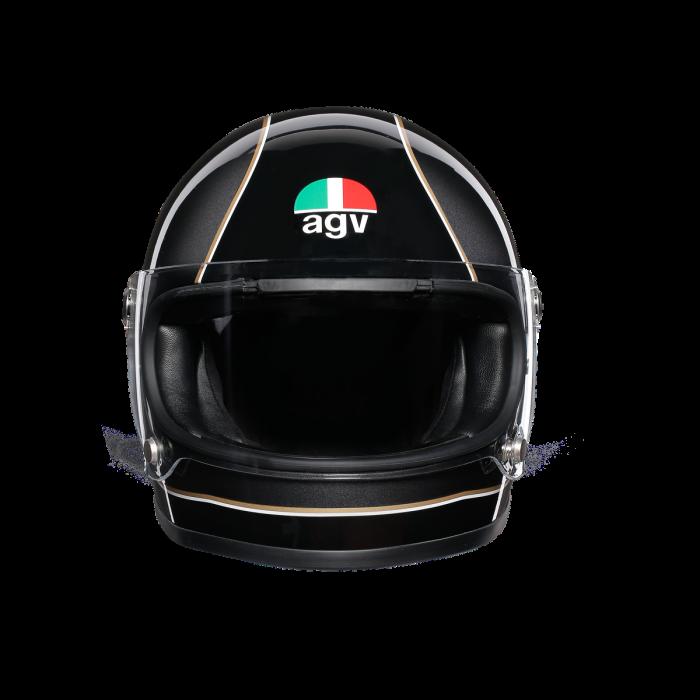 Casca AGV X3000 MULTI E2205 - SUPER AGV BLACK/GREY/YELLOW 1
