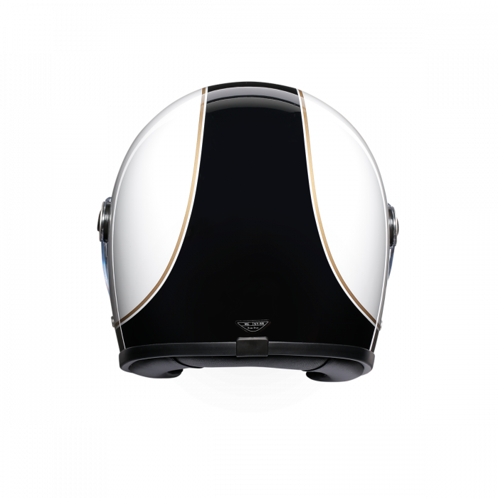 Casca AGV X3000 MULTI E2205 - SUPER AGV BLACK/WHITE 2