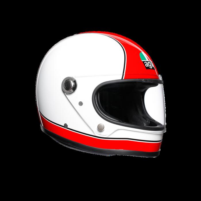 Casca AGV X3000 MULTI E2205 - SUPER AGV RED/WHITE 0