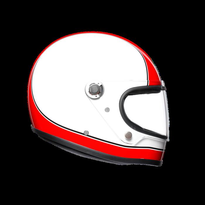 Casca AGV X3000 MULTI E2205 - SUPER AGV RED/WHITE 3