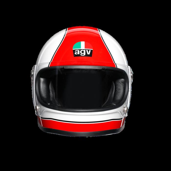 Casca AGV X3000 MULTI E2205 - SUPER AGV RED/WHITE 1