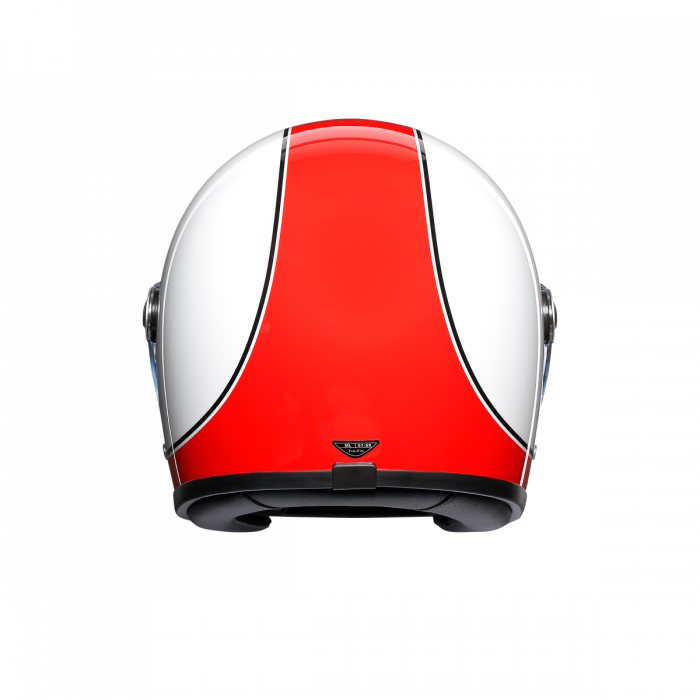 Casca AGV X3000 MULTI E2205 - SUPER AGV RED/WHITE 2