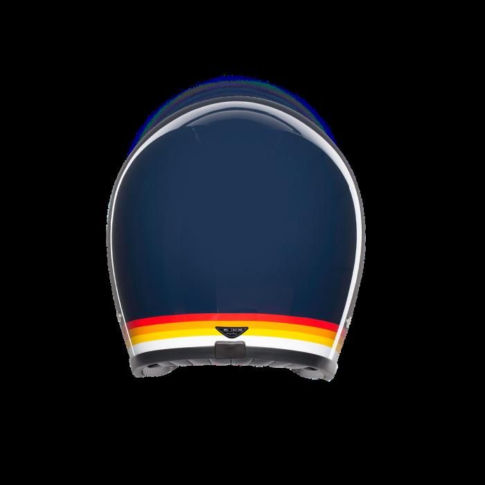 Casca AGV X70 MULTI E2205 - RIVIERA BLUE/RAINBOW 3