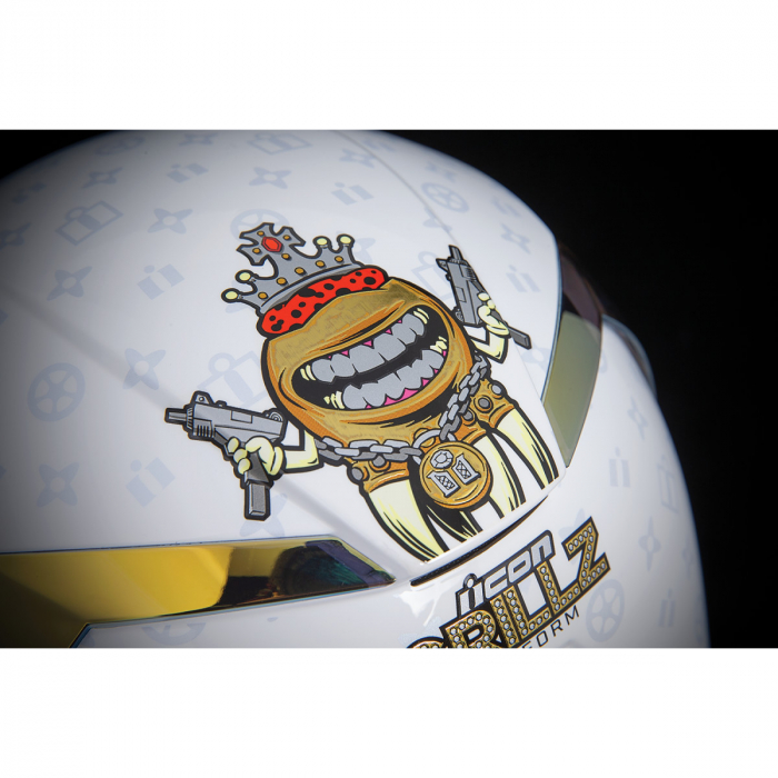 Casca Icon Airfrom Grillz Alb XS [6]