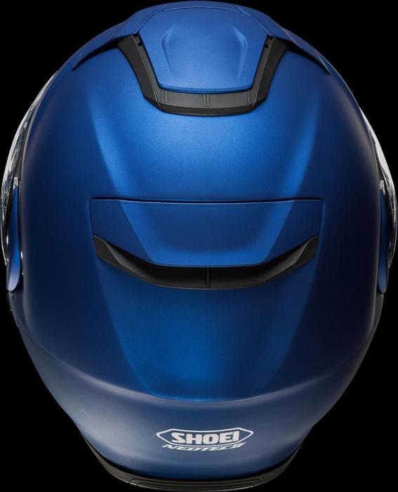 CASCA SHOEI Neotec-II matt blue met. 5