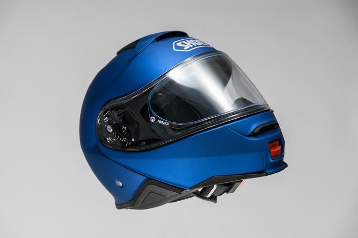CASCA SHOEI Neotec-II matt blue met. 2