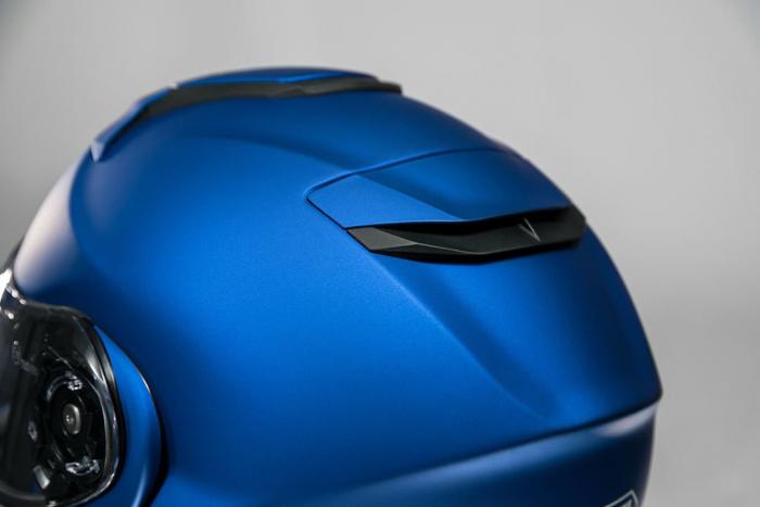 CASCA SHOEI Neotec-II matt blue met. 3