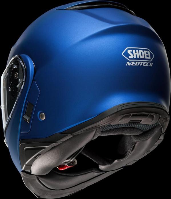 CASCA SHOEI Neotec-II matt blue met. 4