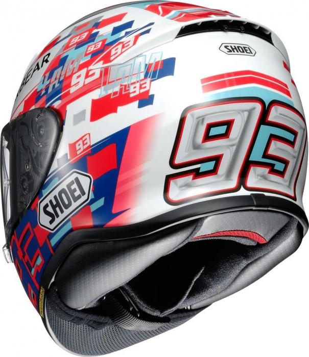 CASCA SHOEI NXR Marquez Power up! TC-1 2