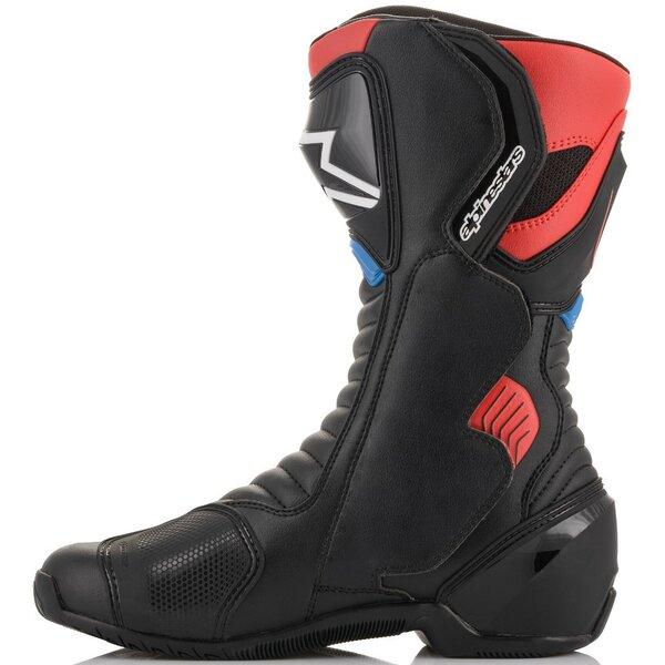 Cizme Sport/Touring Alpinestars Smx-6 V2 Honda Edition 41 Negru/Rosu/Albastru [2]