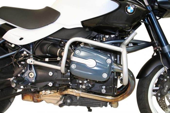 Crash Bar Argintiu. BMW R 1150 R Roadster, Rockster 2004-2006 [0]