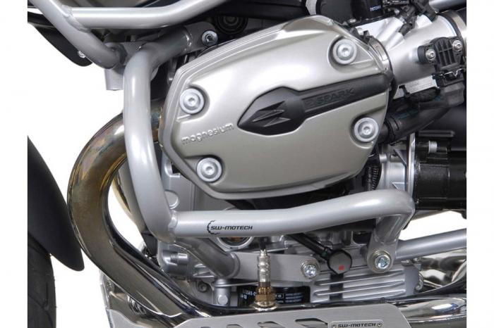 Crash Bar Argintiu. Capac motor. BMW R 1200 GS 2004-2012 [1]