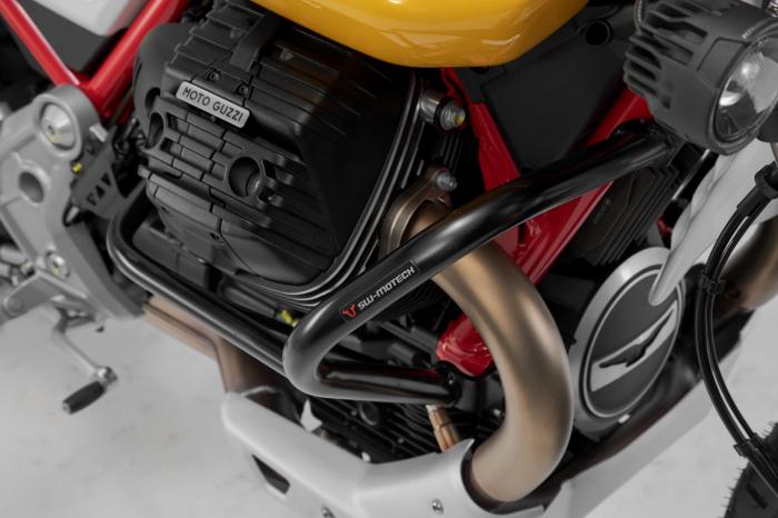 Crash bar negru Moto Guzzi V85 TT (19-). [4]