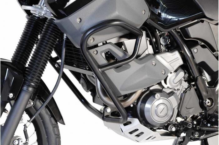 Crash Bar Negru.Negru. Pentru protec?ia motorului SW-Motech / Yamaha Yamaha XT 660 Z Tenere 2007- [1]