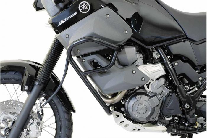 Crash Bar Negru.Negru. Pentru protec?ia motorului SW-Motech / Yamaha Yamaha XT 660 Z Tenere 2007- [0]