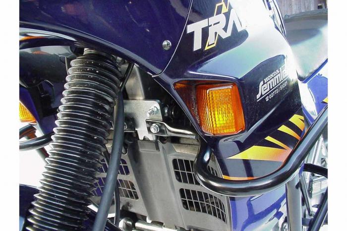 Crash Bar Negru. Nu Model California. Honda XL 600 V Transalp 1987-1996 [0]