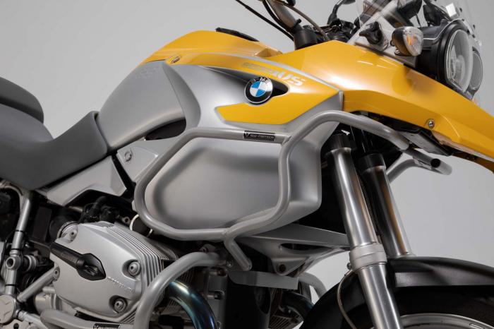 Crash bar superior argintiu. BMW R1200 GS (04-07). Only with crash bar. [1]