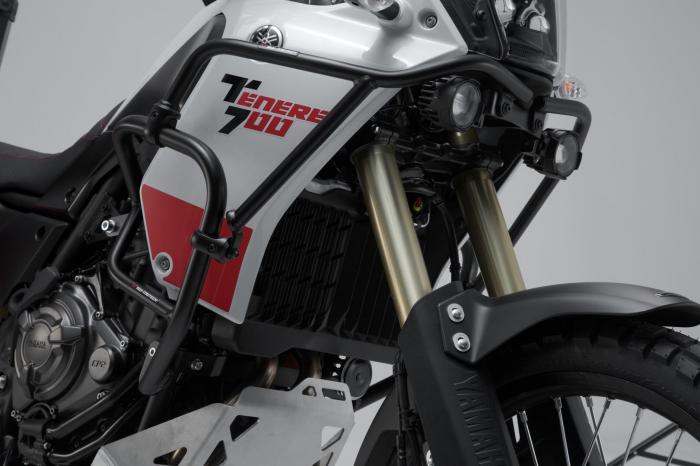 Crash bar superior Negru. Yamaha Tenere 700 (19-). 2