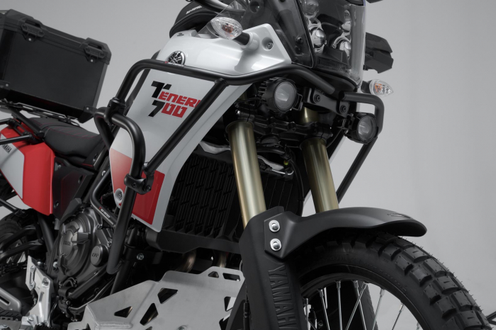 Crash bar superior Negru. Yamaha Tenere 700 (19-). 1