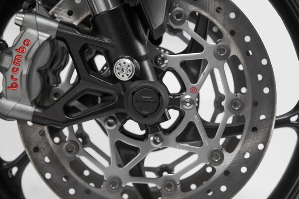 Crash pad ax roata fata Moto-Guzzi V85TT Trav [2]