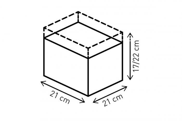 Geanta Rezervor Evo Enduro LT cu curele de fixare 5-7.5 l  Negru /Gri. 2