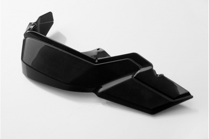 Extensie Kit Protectii maini Kobra 2 buc. Plastic cu pana la 50% mai multa protectie. Negru 0