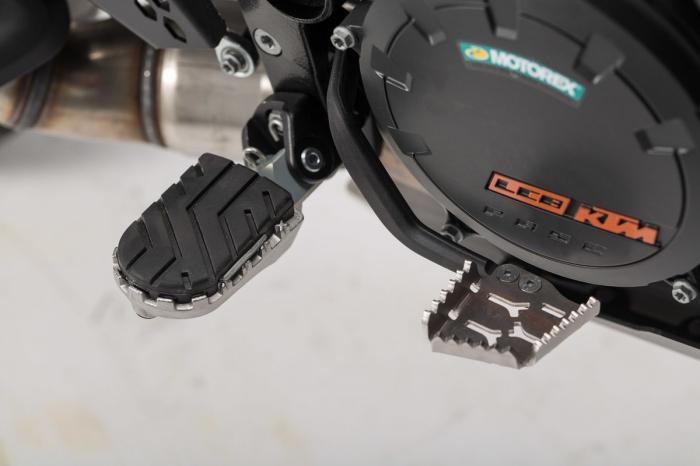 Extensie Pedala Frana Argintiu KTM Adventure 990/1050/1190/1290 / SMR. [2]