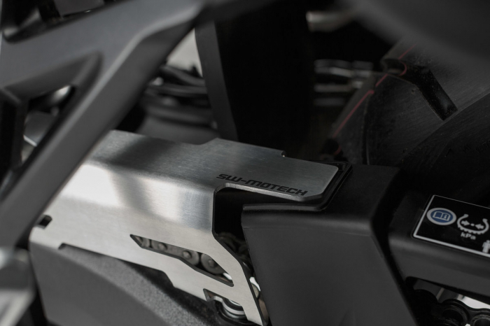 Extensie protectie lant Aluminium. Argintiu. Honda CRF 1000L Africa Twin (15-) [0]