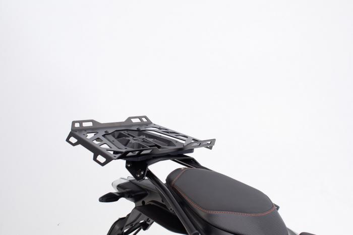 Extensie suport bagaje pentru Street-Rack 45x30 cm. Quick-Lock. Aluminium. Negru 0
