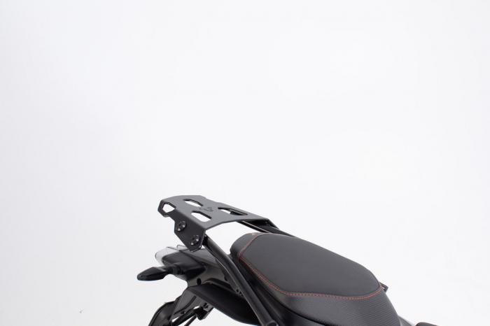 Extensie suport bagaje pentru Street-Rack 45x30 cm. Quick-Lock. Aluminium. Negru 2
