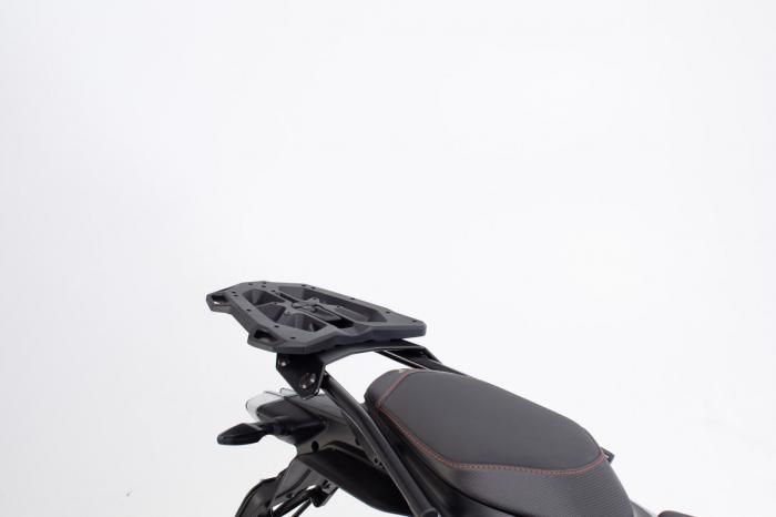 Extensie suport bagaje pentru Street-Rack 45x30 cm. Quick-Lock. Aluminium. Negru 1
