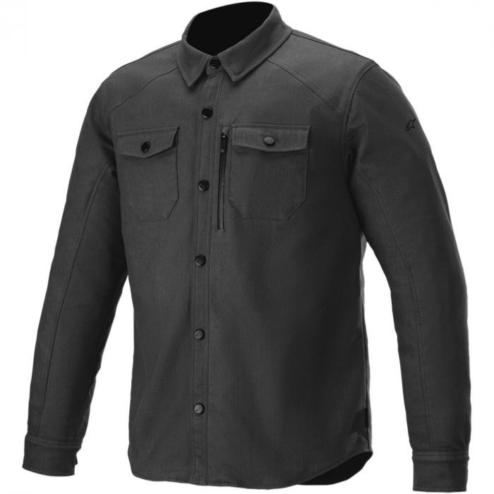 Geaca Alpinestars Newman Shirt Negru S [0]