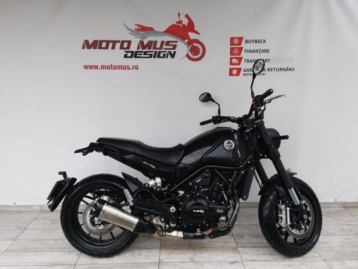 Motocicleta A2 Benelli Leoncino 500cc 47CP ABS - B96336 0