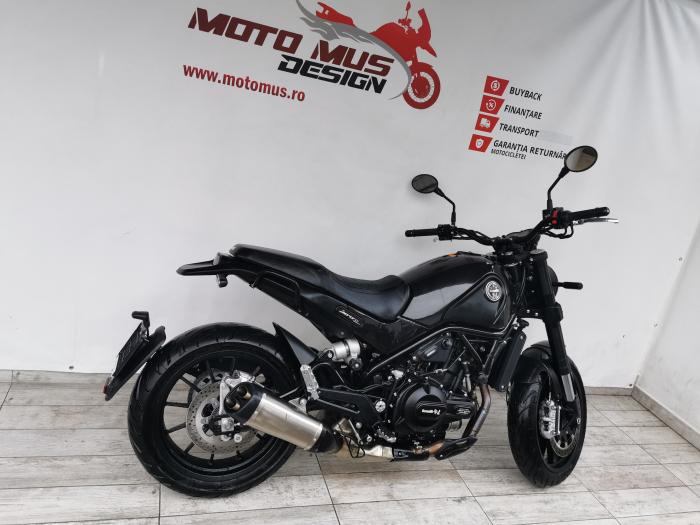 Motocicleta A2 Benelli Leoncino 500cc 47CP ABS - B96336 1