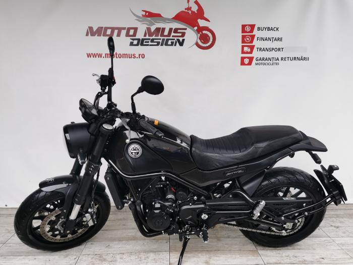 Motocicleta A2 Benelli Leoncino 500cc 47CP ABS - B96336 6