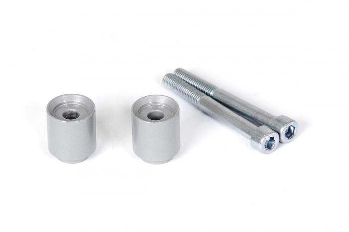 Inaltator ghidon Argintiu. H=30mm. BMW F700GS, F800GS/Adventure. [0]