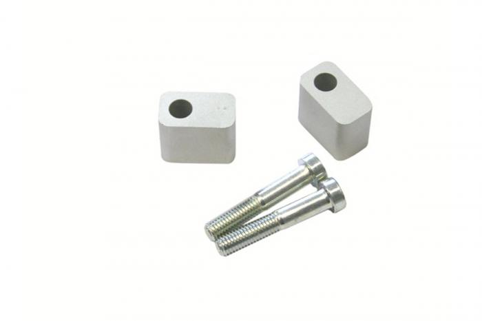 Inaltator ghidon D. 22 mm. h 30 mm. Argintiu. [0]