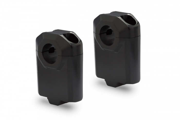 Inaltator ghidon D. 22 mm H=50 mm Negru [0]