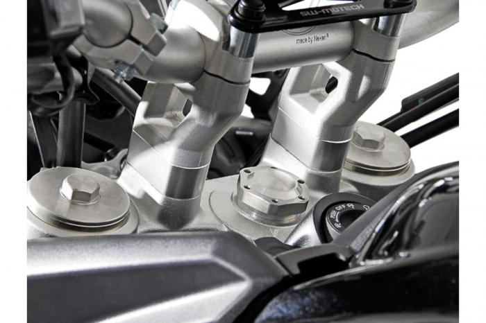 Inaltator ghidon h 20 mm. Argintiu. LEH.11.039.10000/S [0]