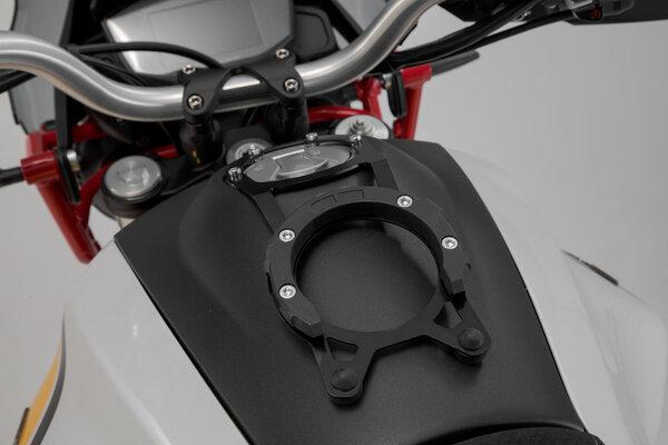 Inel pentru fixare gentuta rezervor PRO Negru Moto-Guzzi V85TT Trav [3]