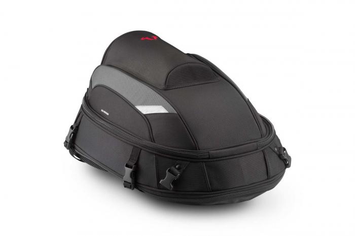 Jetpack tail bag 20-33 l. Ballistic Nylon. negru /Gri. 0