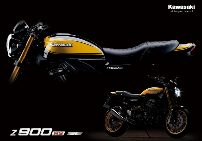 Kawasaki Z900 RS SE 2022 [3]