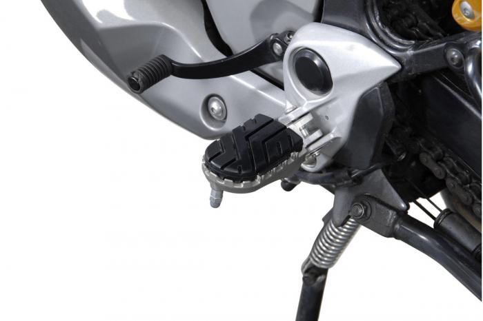 Kit scarite ION pentru Honda XL650V (02-06) / XL700V (07-).Argintiu 2