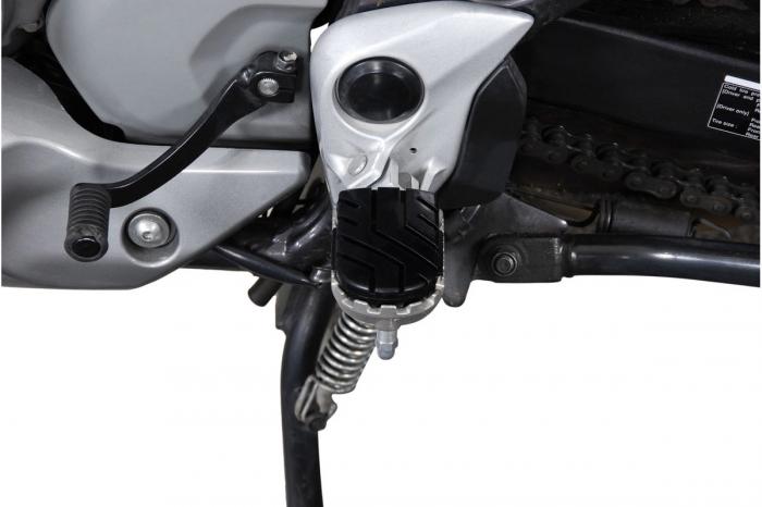 Kit scarite ION pentru Honda XL650V (02-06) / XL700V (07-).Argintiu 1