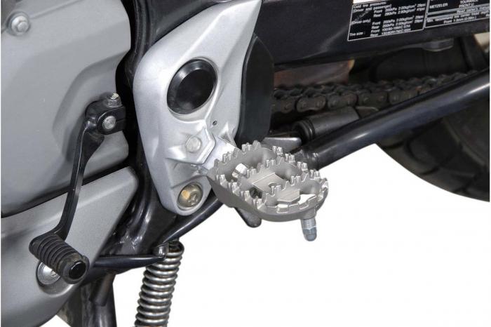 Kit scarite ION pentru Honda XL650V (02-06) / XL700V (07-).Argintiu 3