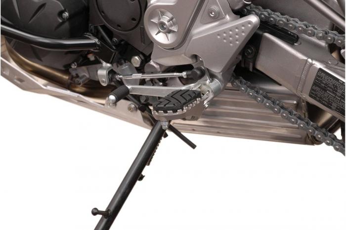 Kit scarite ION pentru Kawasaki Versys 650 / ZRX1200 / Z1000.Argintiu 2