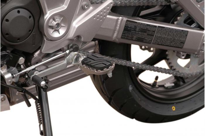 Kit scarite ION pentru Kawasaki Versys 650 / ZRX1200 / Z1000.Argintiu 0